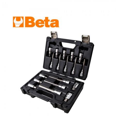 """Комплект Beta 923E-PE/C18 имбусни вложки на 1/2"""" - 18 части"""