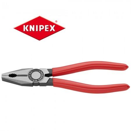 Клещи комбинирани Knipex 180mm с PVC покритие на дръжките