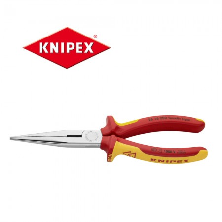 Телефонни клещи Knipex 200mm изолирани 1000V