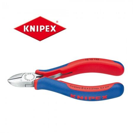 Клещи резачки Knipex 125mm, Cu 0.4-2.5mm