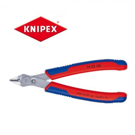 Клещи резачки Knipex за електроника 125mm, Cu1.6mm, Fe1.0mm