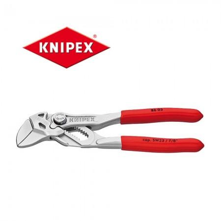 Клещи ключ Knipex 125mm с обхват до 23mm