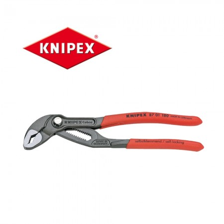 Клещи Knipex Cobra® 180mm с обхват до 36mm