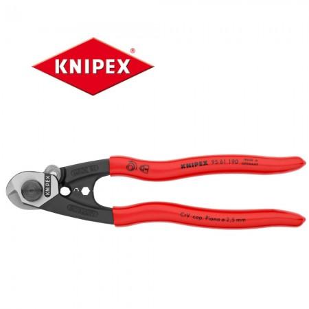 Kлещи Knipex за рязане на стоманени въжета Ф7mm