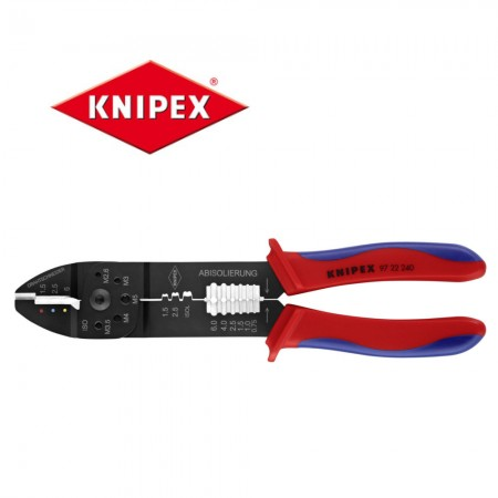 Kлещи Knipex за кербоване 0.75-6.0mm2