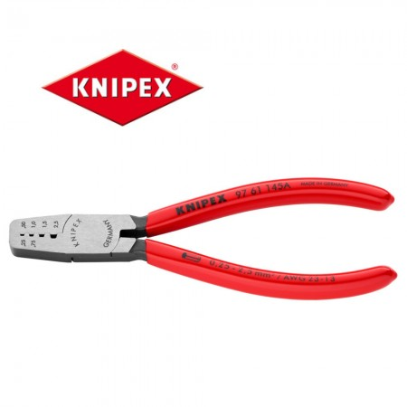 Kлещи Knipex за кербоване 0.25-2.5mm2