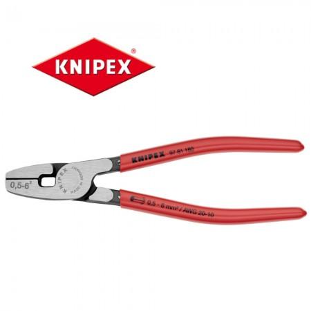 Кримпващи клещи Knipex за накрайници 0.50-6.00mm2