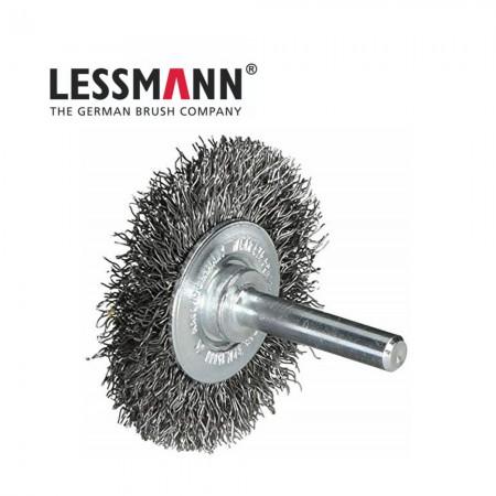 Дискова четка D=75mm Lessmann