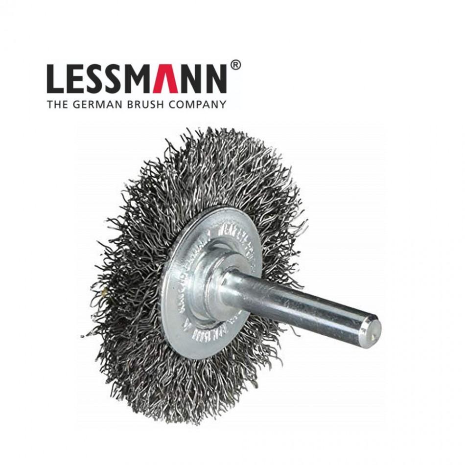 Дискова четка D=50mm Lessmann