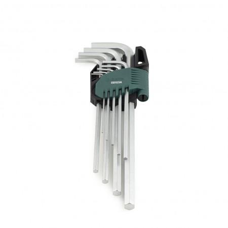 Имбусни ключове удължени комплект 9 бр.