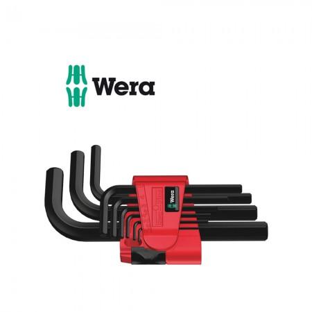 Комплект 9 бр. имбусни ключове метрични Wera