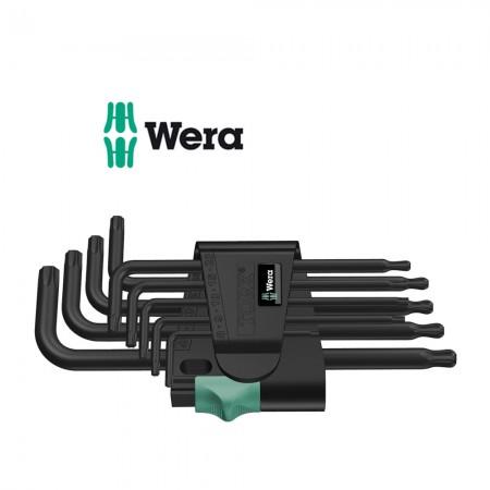 Комплект 9 бр. ключове Wera TORX