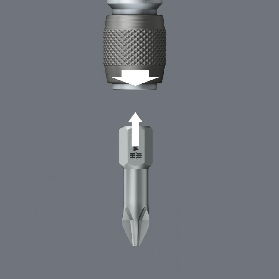 """Универсален държач за накрайници (битове) 1/4"""" х 51mm - Wera 894/4/1 K"""