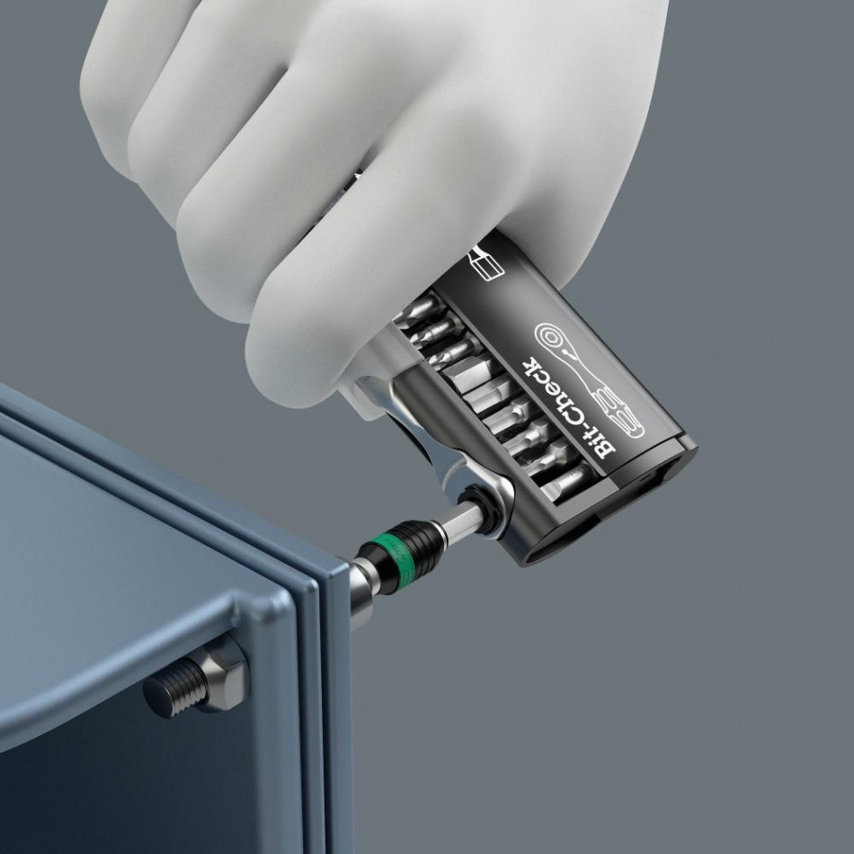 Комплект Wera Tool-Check PLUS тресчотка, ръкохватка, накрайници и вложки 39 части