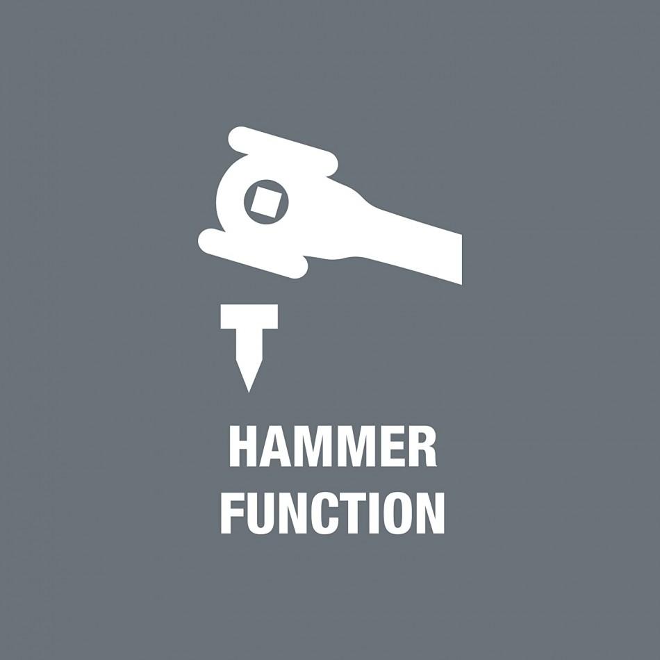 "Тресчотка Wera Koloss Hammer 1/2"" серия 8002C"