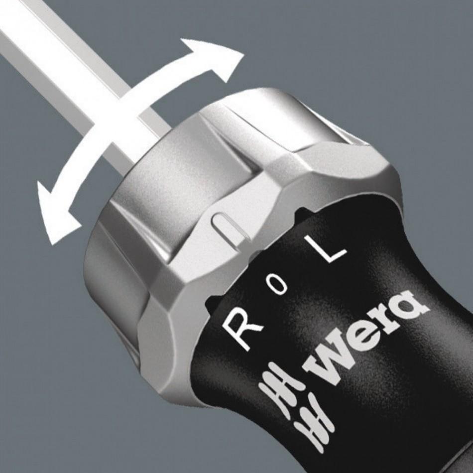 Ръкохватка с тресчотка Wera КК27RA с 6 бр накрайници