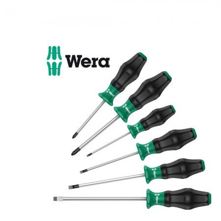 Комплект 6 бр. отвертки Wera Kraftform Comfort