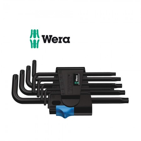 Комплект 9 бр. ключове Wera TORX HF