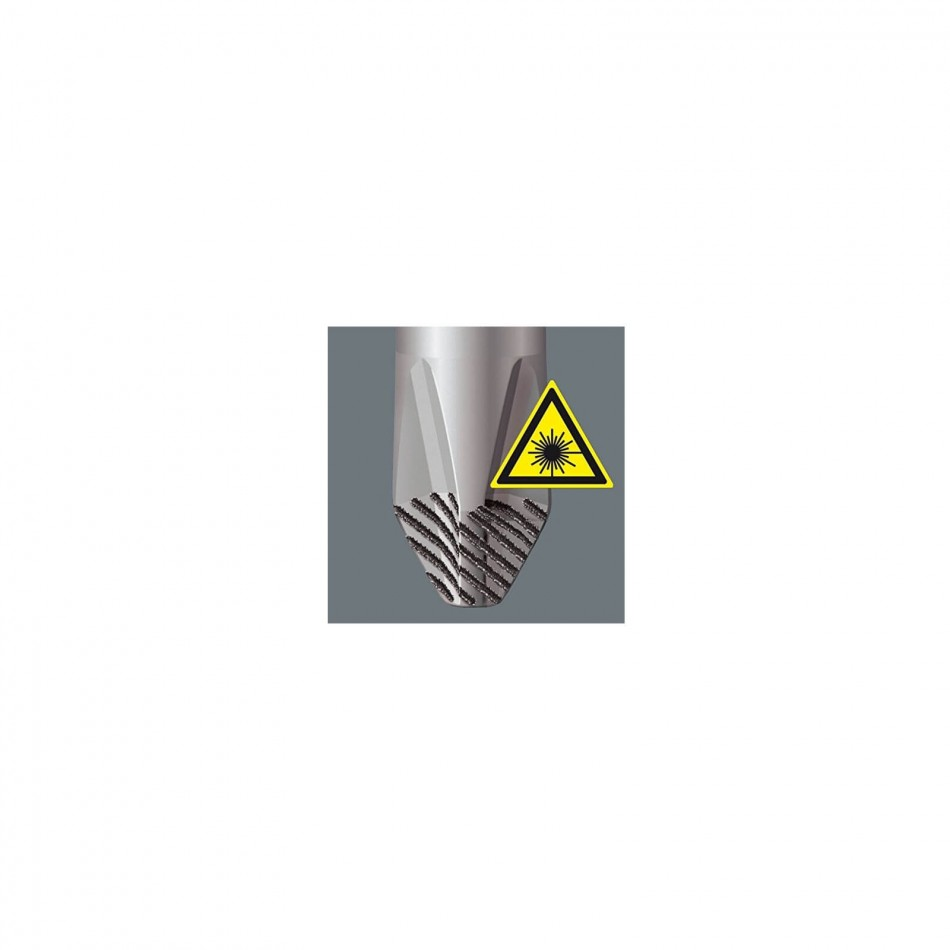 Отвертка права изолирана (1000V) 2.5x80mm Wera Krafform Plus