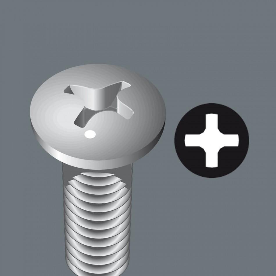 Комплект Wera Bit-Chek Metal1- 12 бр накрайници с държач