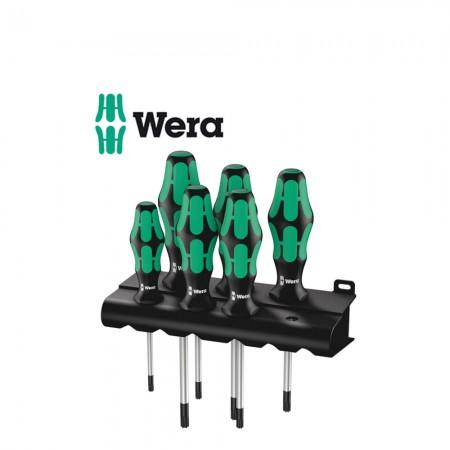 Комплект 6 бр. отвертки Wera TORX Kraftform Plus