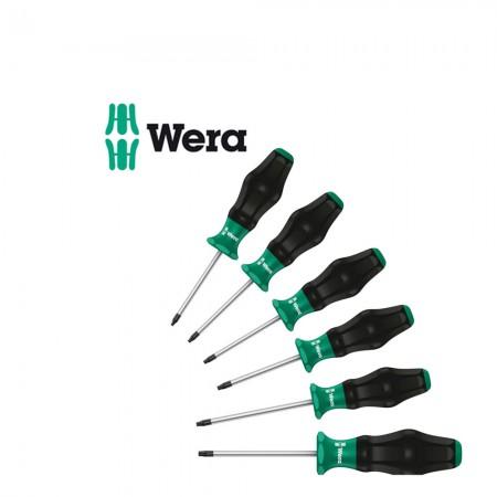 Комплект 6 бр. отвертки Wera TORX Kraftform Comfort