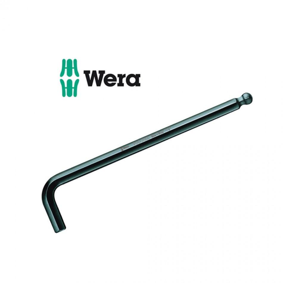 Имбусен ключ Wera със сферична глава 1.5x90mm
